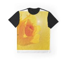 Yellow flame Graphic T-Shirt