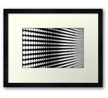.MATRIX Framed Print