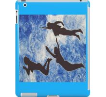 The swimming ladies iPad Case/Skin
