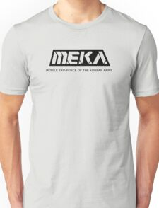MEKA- Mobile Exo-Force of the Korean Army Unisex T-Shirt