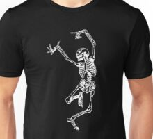 Crazy Skeleton Unisex T-Shirt