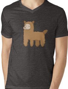 Alpaca Mens V-Neck T-Shirt