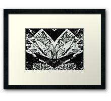 Fragment Doberman Framed Print