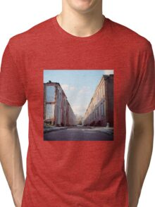 Boarded Up Rowhomes Tri-blend T-Shirt