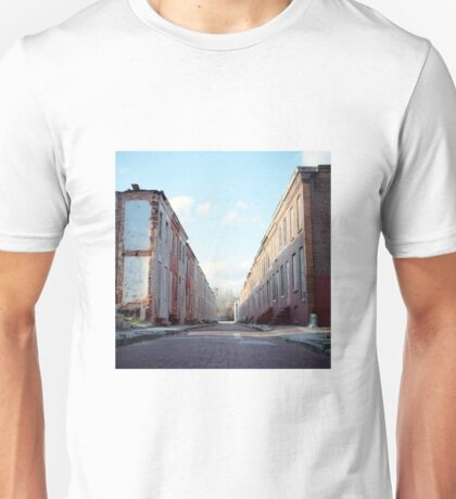 Boarded Up Rowhomes Unisex T-Shirt