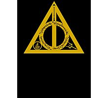 Bookly Hallows - Gold Photographic Print