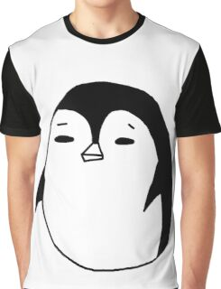 Moody Penguin Graphic T-Shirt