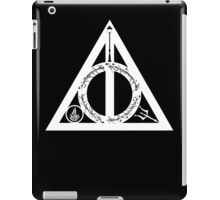 Bookly Hallows - White iPad Case/Skin