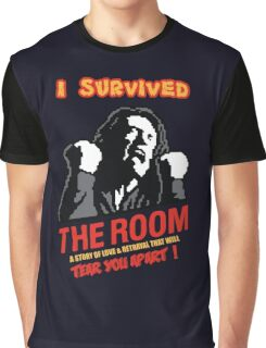 I Survived The Room, worst movie ever Graphic T-Shirt