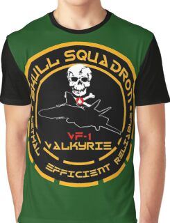 Skull Squadron Valkyrie Graphic T-Shirt