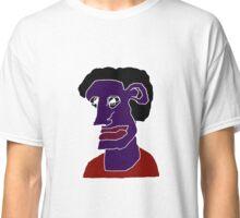 Man Portrait Caricature Classic T-Shirt