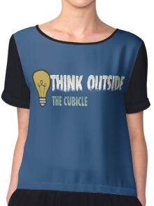 Think outside the cubicle Chiffon Top