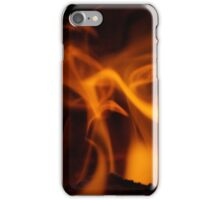 Fire and Gold iPhone Case/Skin