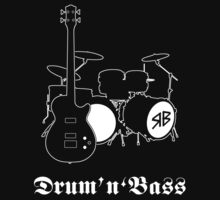 Royal Blood T-Shirt - Drum 'n' Bass by chriscrossley
