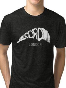 VELODROME LONDON - WHITE Tri-blend T-Shirt