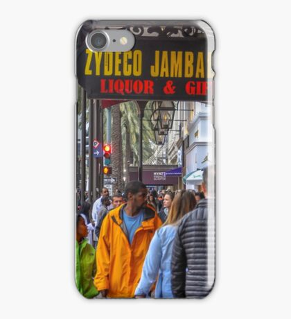 On The Street In The Big Easy iPhone Case/Skin