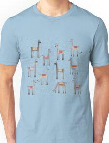 Llamas in the Meadow Unisex T-Shirt