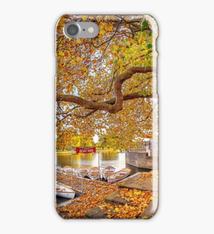 Golden Leaves Of Autumn iPhone Case/Skin
