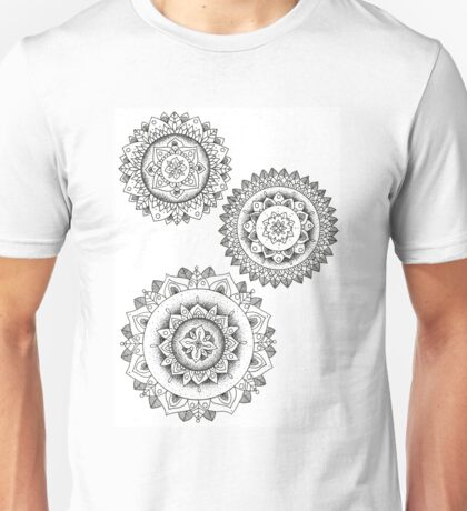 Detailed Unisex T-Shirt