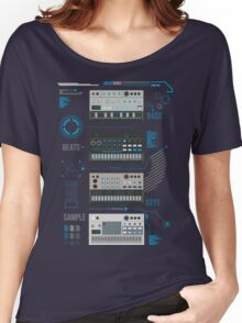 Volca Series Basic Blue  Women's Relaxed Fit T-Shirt