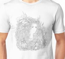 Forest Beauty. A Fairy Tale Unisex T-Shirt