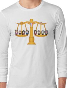Both Sides Of The Law Long Sleeve T-Shirt
