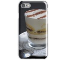 coffee flavoured Cream Dessert iPhone Case/Skin