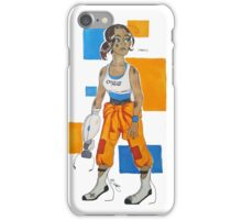 Tired Subject iPhone Case/Skin