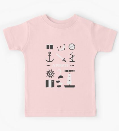 Once Upon A Time - A Pirate Kids Tee