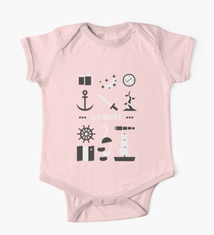 Once Upon A Time - A Pirate One Piece - Short Sleeve