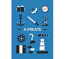 Once Upon A Time - A Pirate Photographic Print