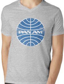 Pam Am Mens V-Neck T-Shirt