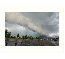 LG G5 Tornadic Storm Art Print