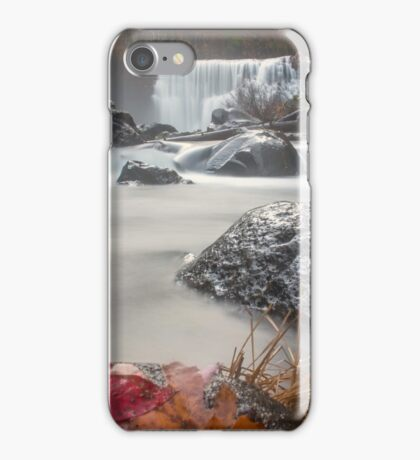 Fall at Middle Falls iPhone Case/Skin