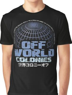 Off World Colonies Graphic T-Shirt