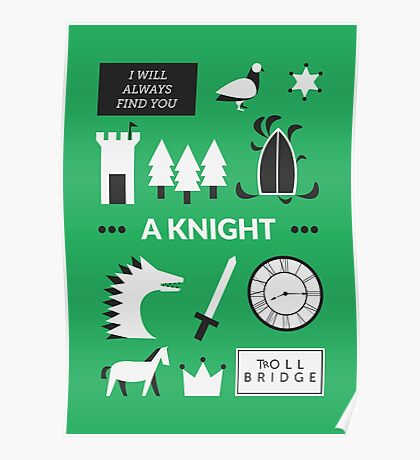 Once Upon A Time - A Knight Poster