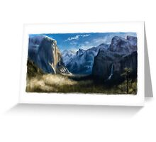 Tranquil Mountains Greeting Card