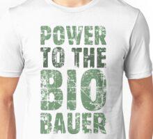 Power to the Biobauer (Vintage/Grün) Unisex T-Shirt