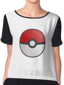 Pokemon Pokeball Chiffon Top