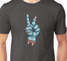 Peace Sign - Zombie L Unisex T-Shirt