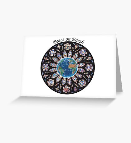 Peace on Earth Greeting Card