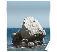 Limestone rock 2 Poster