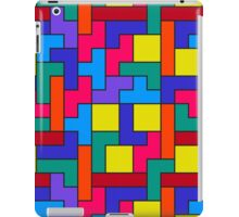Tetris Blocks Pattern iPad Case/Skin