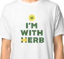 """I'm With Herb"" - Hillary Clinton Cannabis Classic T-Shirt"