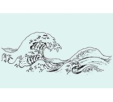 """The Great Wave off Kanagawa"" Photographic Print"