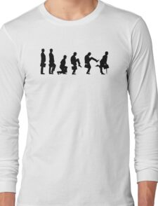 Ministry of Silly Walks T Shirt Long Sleeve T-Shirt