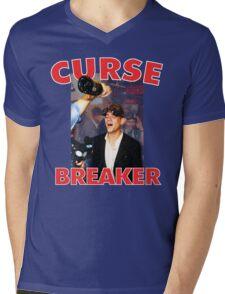 Curse Breaker Mens V-Neck T-Shirt