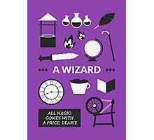 Once Upon A Time - A Wizard Photographic Print