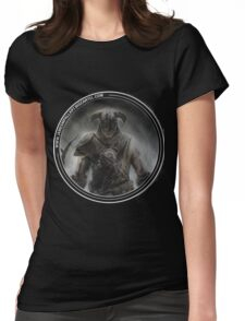 Skyrim Art Womens Fitted T-Shirt