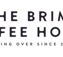 The Brim Coffee House Bumper Sticker Sticker